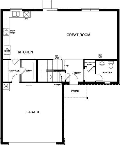 Plan 2384 First Floor