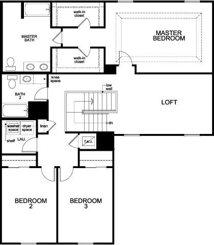 Plan 2384 Second Floor
