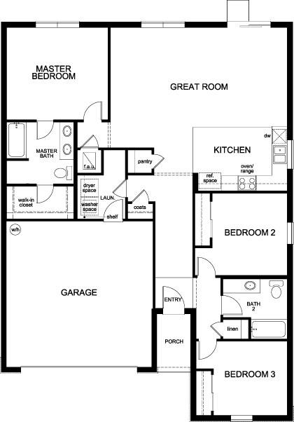 Plan 1541 Modeled