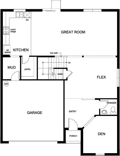 Plan 3016 First Floor